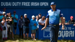 Padraig Harrington hit an opening round 68 in Ballyliffin Golf Club in Donegal