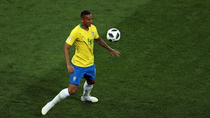 Danilo 90 minutes in Brazil's opening game against Switzerland, sprained ligaments in his left ankle in training on Thursday.
