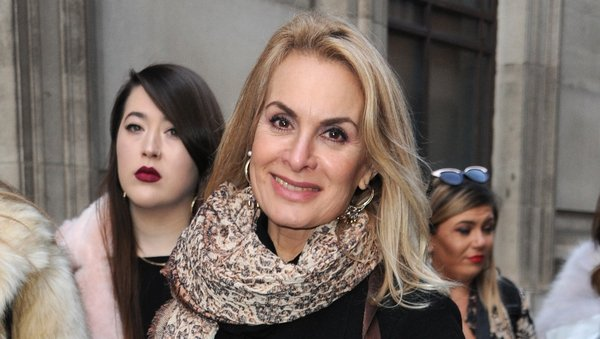 Jay Aston recovering in hospital following surgery