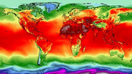 The UN has estimated that by 2030, 2.2% of total working hours worldwide will be lost because of higher temperatures