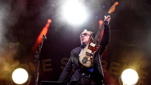 Elvis Costello - Everyone in tune, right? Let's go . . .
