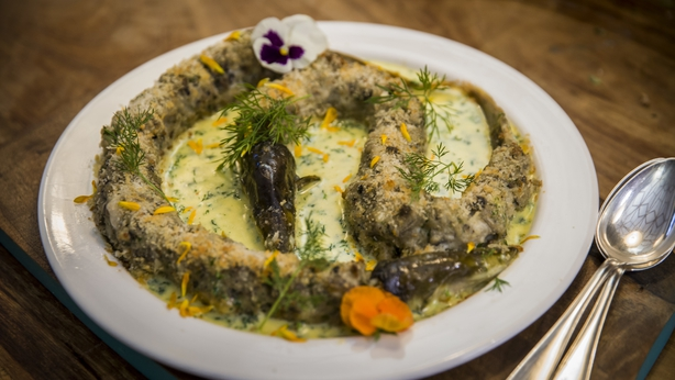 Eels in White Sauce