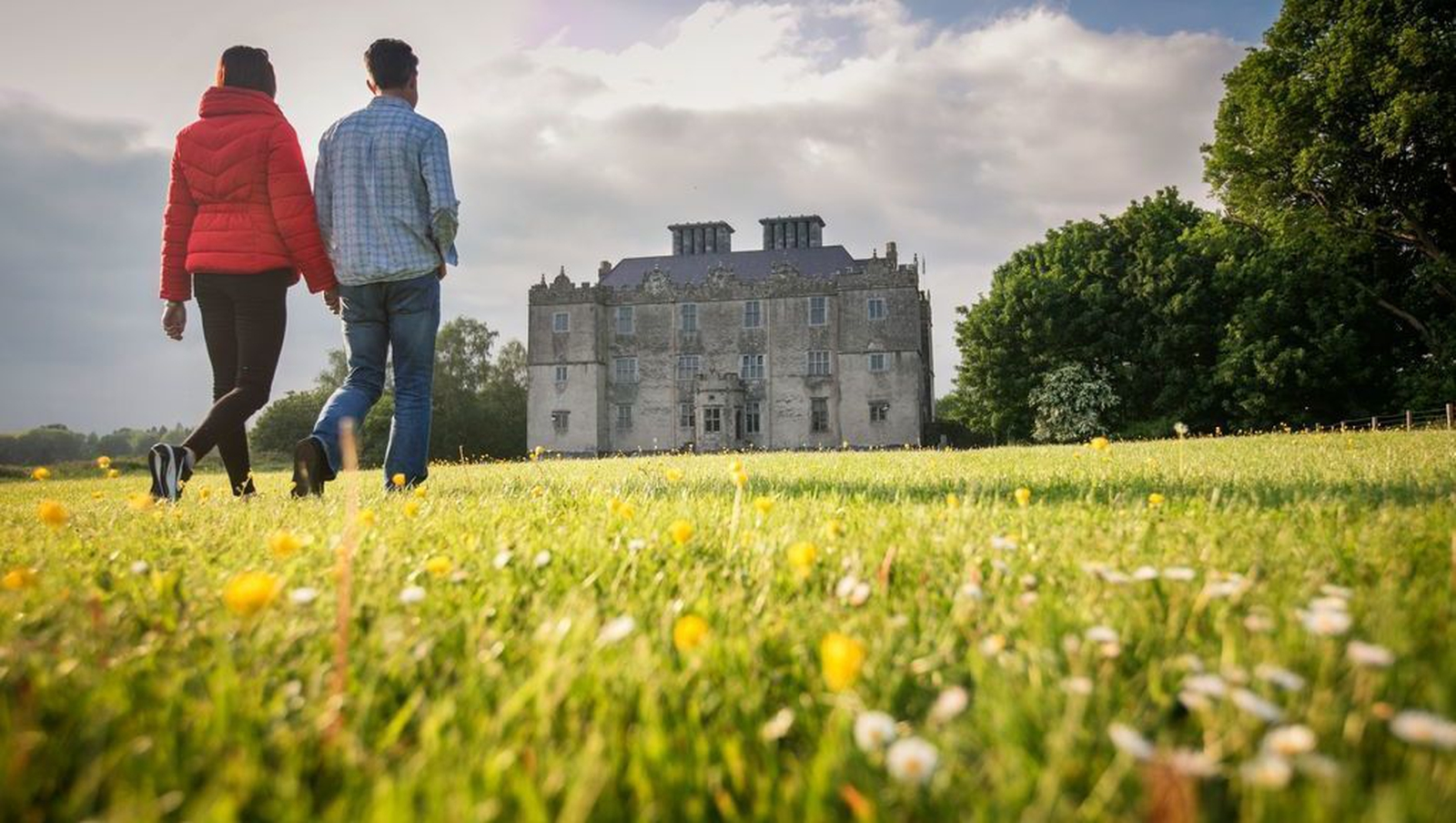 Image - Though a fire destroyed its interior, Portumna Castle is still a sight to behold.