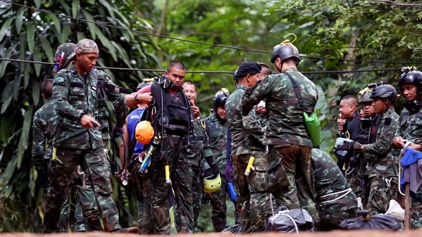Day 2 of Thai cave rescue operation