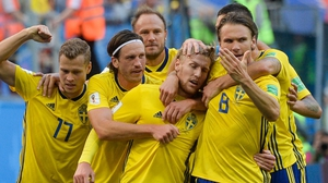 Sweden were forced to evacuate their rooms at around 8am