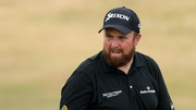 Shane Lowry will tee off tomorrow morning at 7.41am