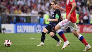 Luka Modric has driven Croatia to the World Cup final