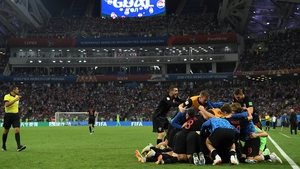 Croatia emerged victorious on penalties for the second time