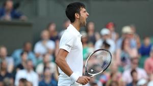 Novak Djokovic ended home hopes