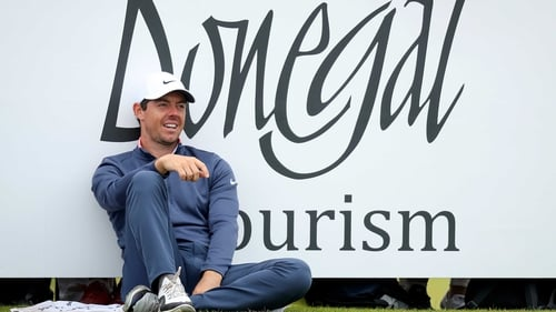 "Rory McIlroy: ""I know I'm trending in the right direction heading into the Open Championship."""