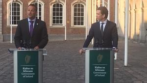 Leo Varadkar was speaking following talks with Austrian Chancellor Sebastian Kurz