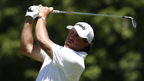 Phil Mickelson forced to take two-stroke penalty at Greenbrier