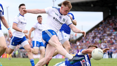 Ryan McAnespie in action during the win against Laois