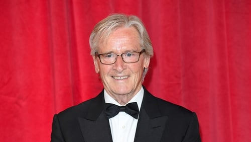 William Roache who plays Ken Barlow in Coronation Street: happy to stay as long as he can