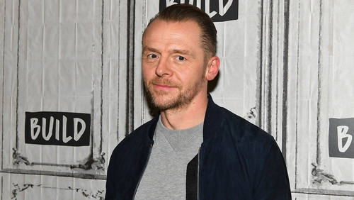 Simon Pegg opens up on alcoholism and depression