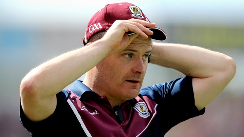 Micheál Donoghue led Galway to a second successive Leinster title yesterday