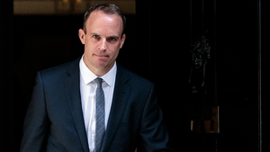 Dominic Raab defended the controversial Chequers Cabinet compromise on withdrawal aims
