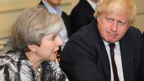 Theresa May faces a stormy meeting with Tory Party MPs later today