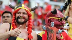 Belgium fans believe