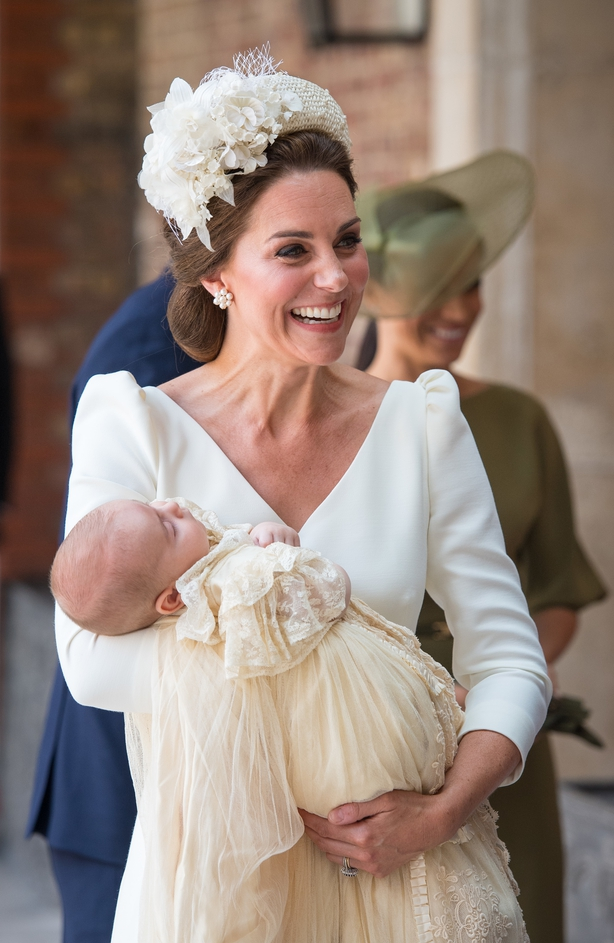 Kate Middleton and Louis