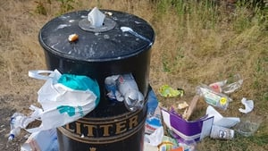 A new campaign has been launched to tackle litter hotspots (file pic)