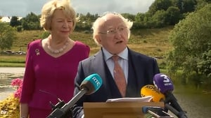 Michael D Higgins announces his intention to run in Presidential election