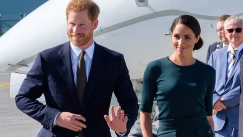 Prince Harry and Meghan Markle wish to step down as senior members of the royal family