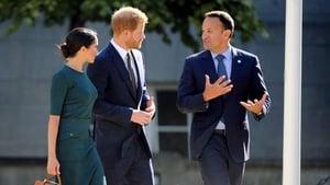 Where they met Taoiseach Leo Varadkar