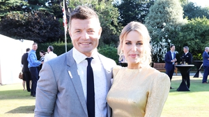 Brian O'Driscoll and Amy Huberman have been cooking something special during lockdown