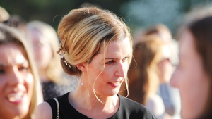 Vicky Phelan at the Garden Party at the British Ambassador's Residence