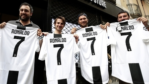 Juventus fans were quick to purchase the new Ronaldo jersey - no surprise what number the Portugal international will wear in Turin