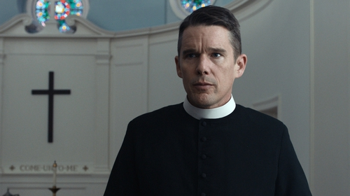 Ethan Hawke puts in a career best performance in First Reformed
