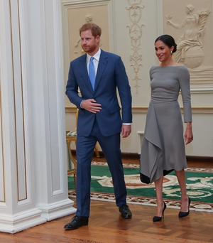 This is the couple's first royal engagement overseas as a married couple