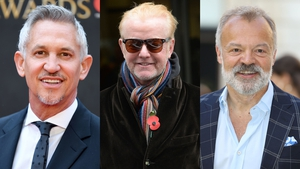 Gary Lineker, Chris Evans and Graham Norton top BBC list