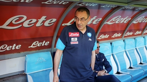 Maurizio Sarri looks set for west London