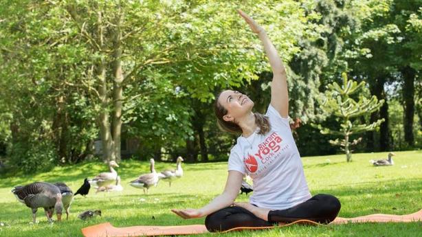 Yoga at Fota
