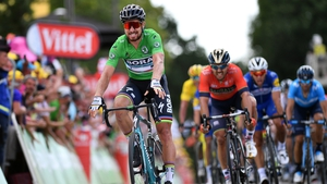 Peter Sagan takes the stage victory