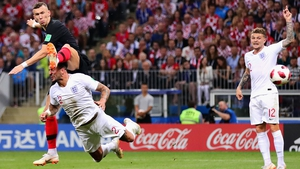 The second half was dominated by Croatia and in the 68th minute, Ivan Perisic struck