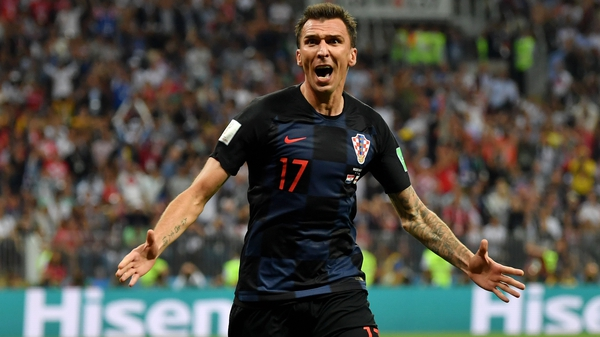 Mario Mandzukic grabbed the winning goal in the second period of extra time