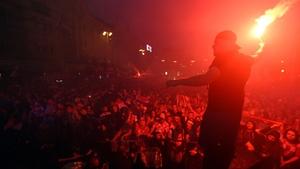 Zagreb erupted