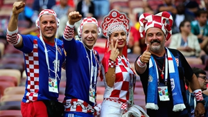 But Croatia supporters were confident following a long, gruelling trip to the semi-finals