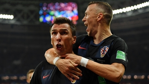 Mandzukic had secured Croatia's passage to their first World Cup final