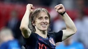 Modric and Croatia, ecstatic