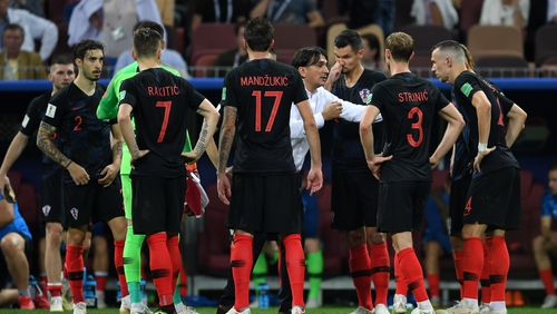 Zlatko Dalic and his players now have a World Cup final to look forward to