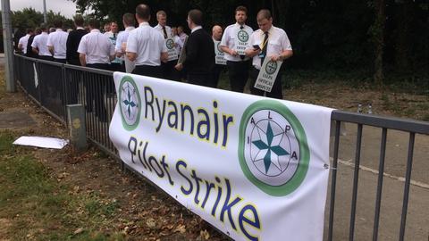 Ryanair Pilot Strike   Prime Time