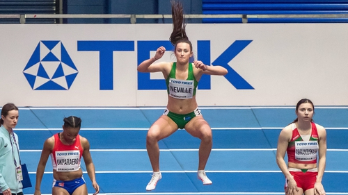 Ciara Neville will be in finals action on Thursday
