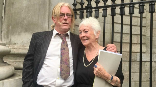Tressa Reeves and her son Patrick Farrell settled their court action against St Patrick's Guild and the State