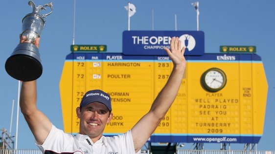 Golf Harrington Wins The Open Again