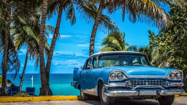 A vintage car in Havana (Thinkstock/PA)