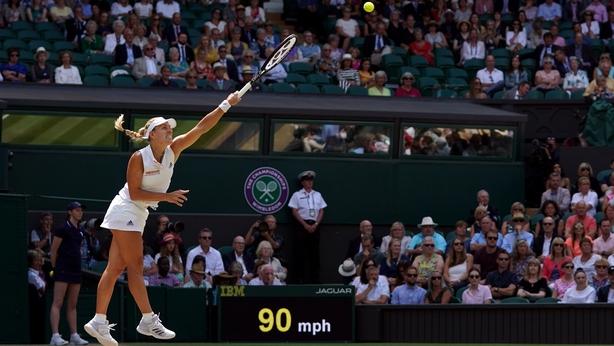 Kerber books place in a second Wimbledon final